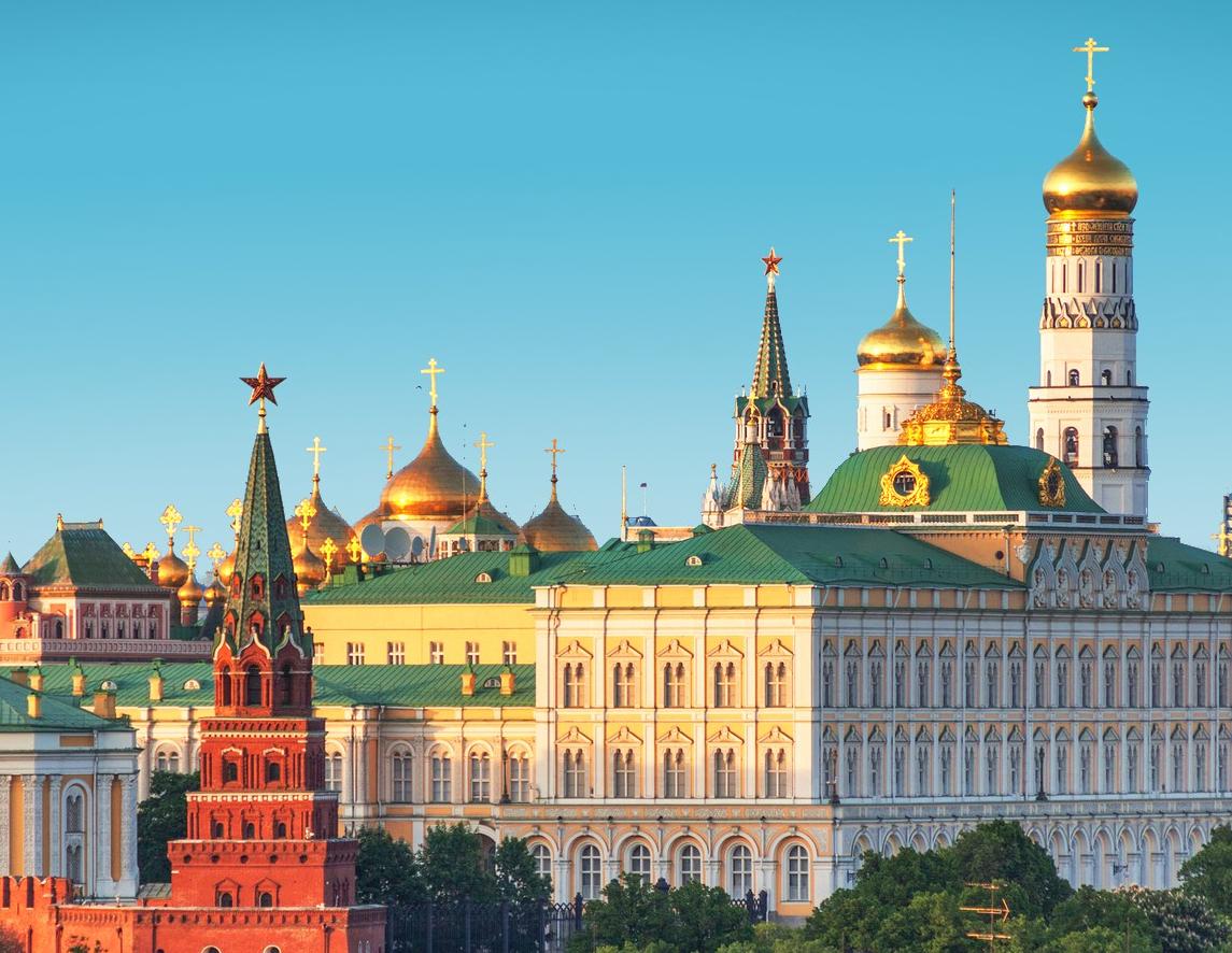 Dreamstime © - Moscou - Vue aérienne (12)-ciel bleu