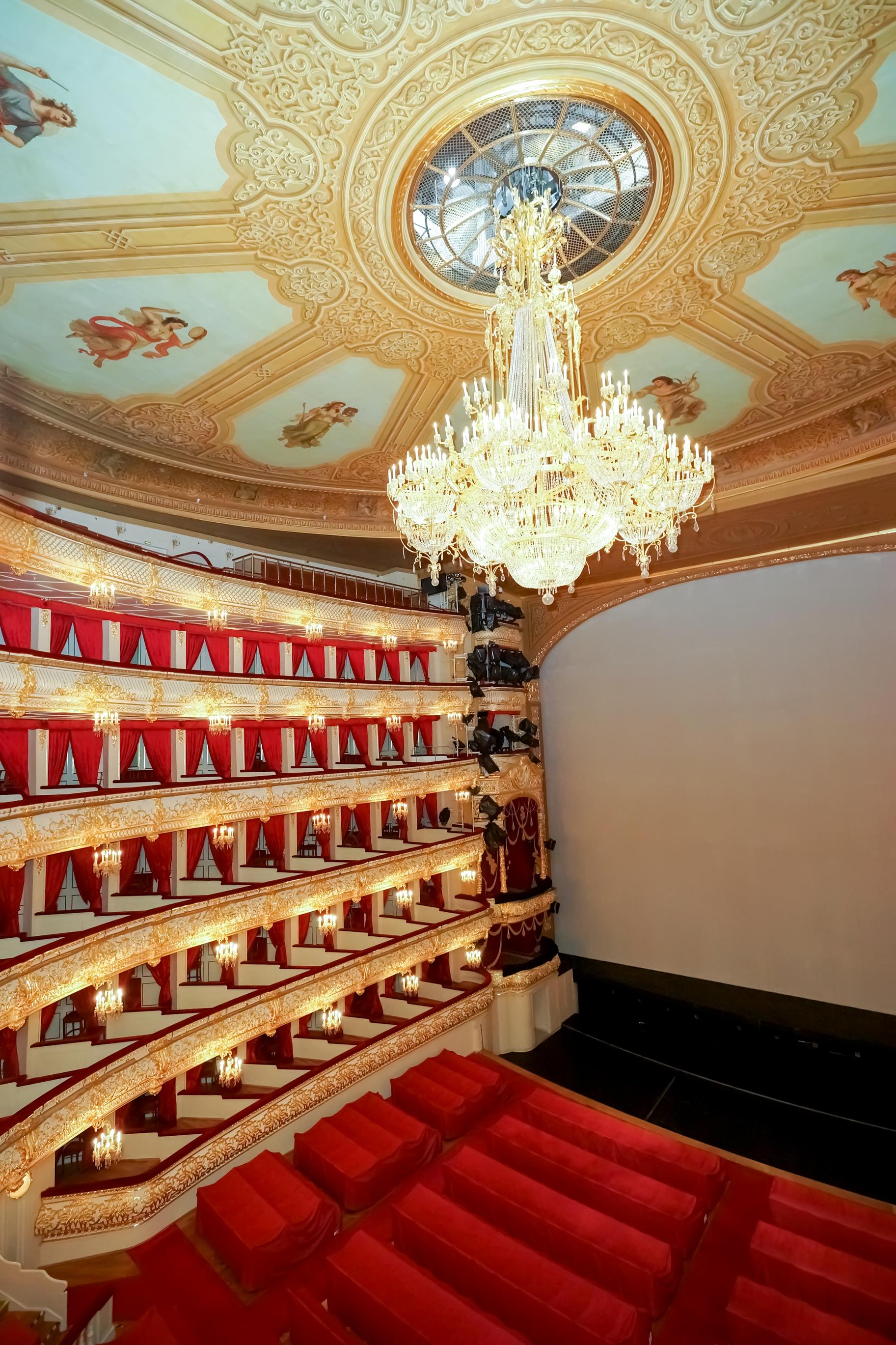 Dreamstime © - Moscou - Théâtre Bolchoï (5)