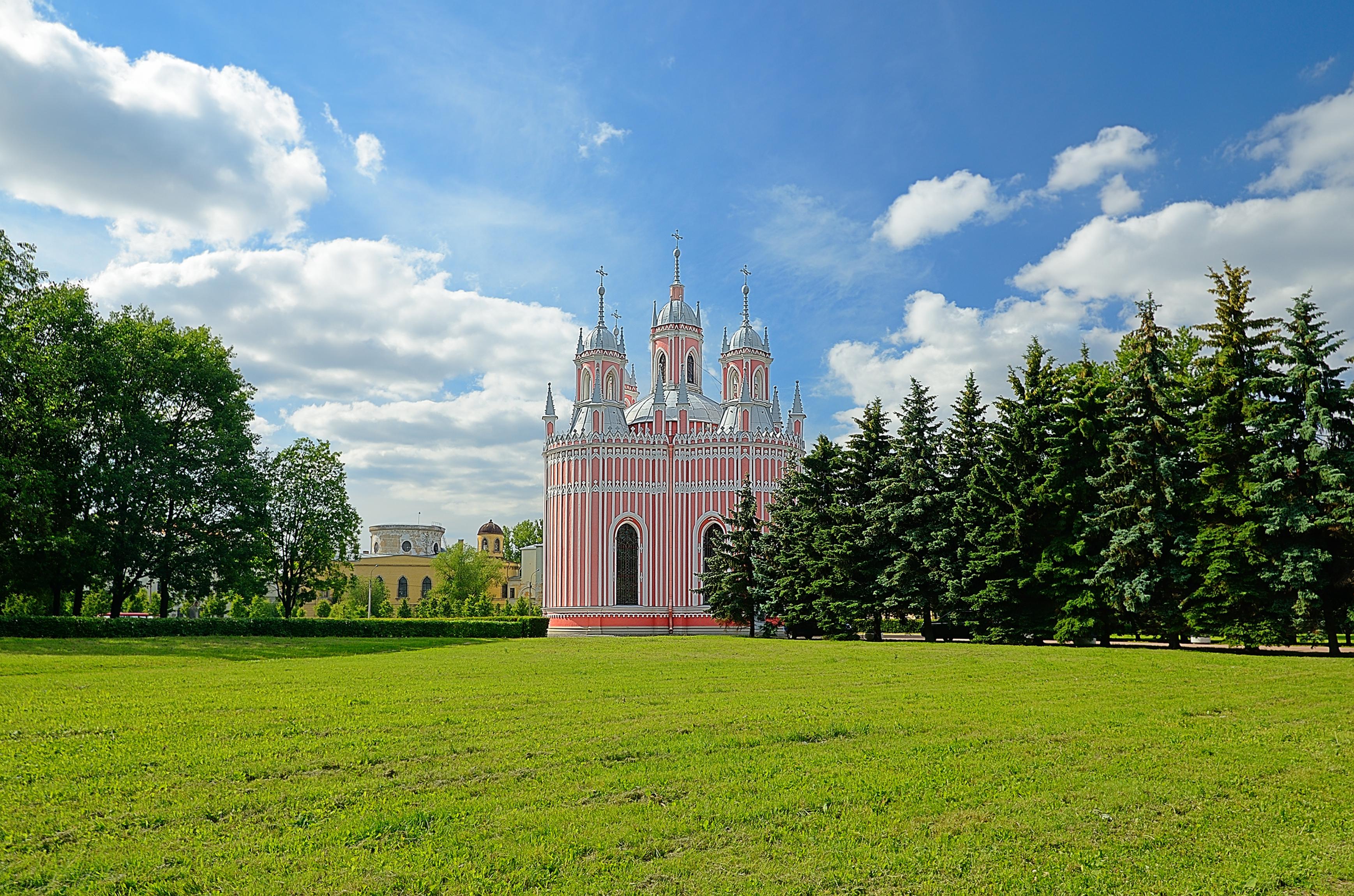 Dreamstime © - Saint-Pétersbourg - Tsarskoe Selo - Eglise de Tchesmé.jpg