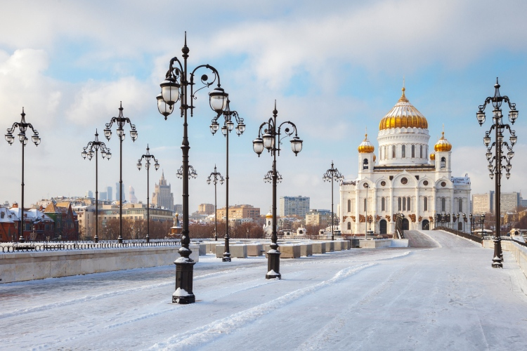 Picture: Cathedral of the Christ The Savior in Winter
