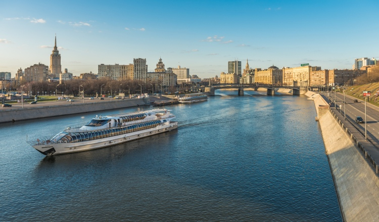 Picture: The Radisson Cruise on the Moskva River