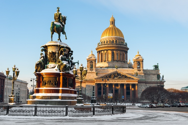 Picture: Saint Isaac's Cathedral in Saint-Petersburg, aka Isaakievskiy Sobor