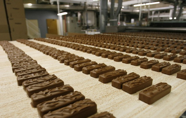 Picture: Babayevsky Chocolate Factory in Moscow ‒ the secrets of the konfetki production