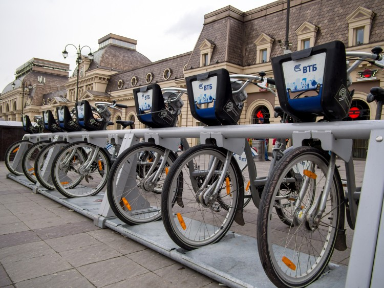 Picture: Cycling in Moscow ‒ Renting a bike made easy with Velobike bike sharing system