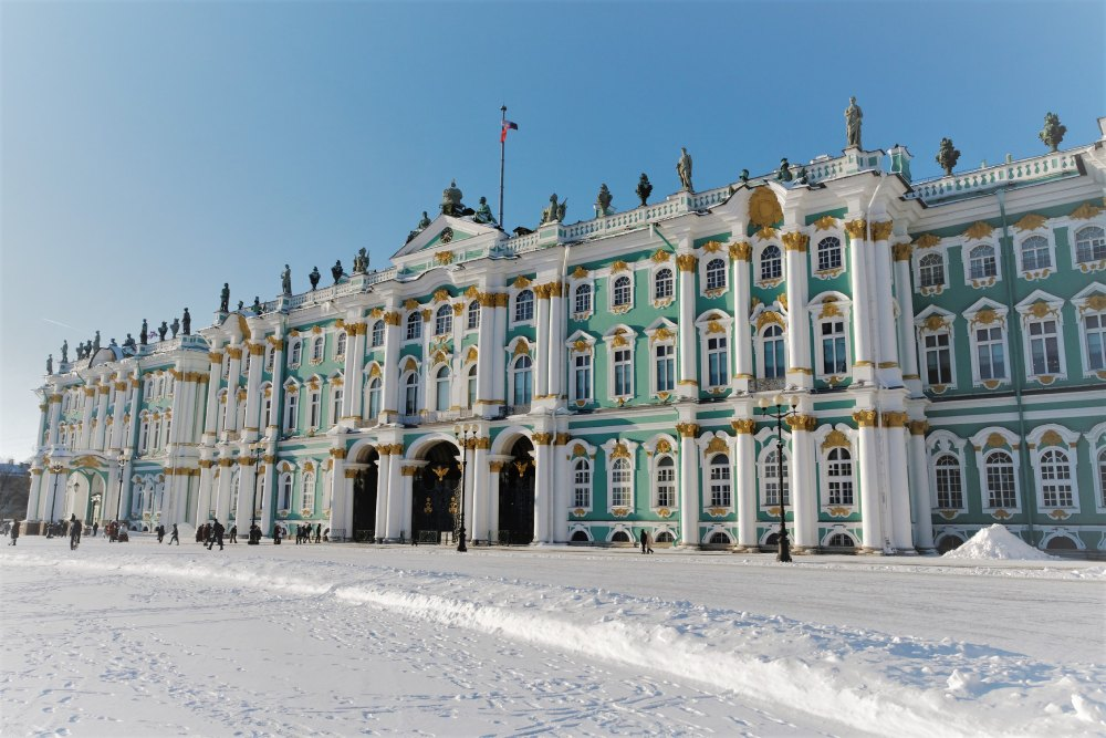 Picture: The State Hermitage Museum in Saint-Petersburg ‒ Home to the Largest Collection of Paintings in the World