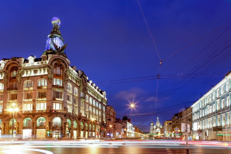 Picture: Singer House in Saint-Petersburg ‒ home both to the House of Books and Café Singer