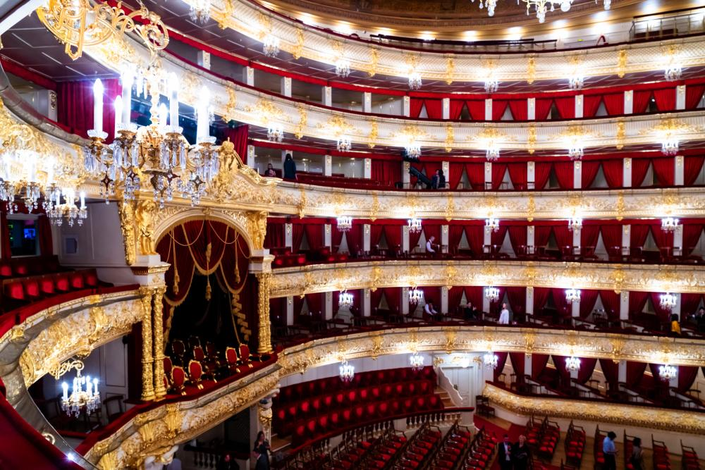 Picture: The Bolshoi Theater Backstages in Moscow