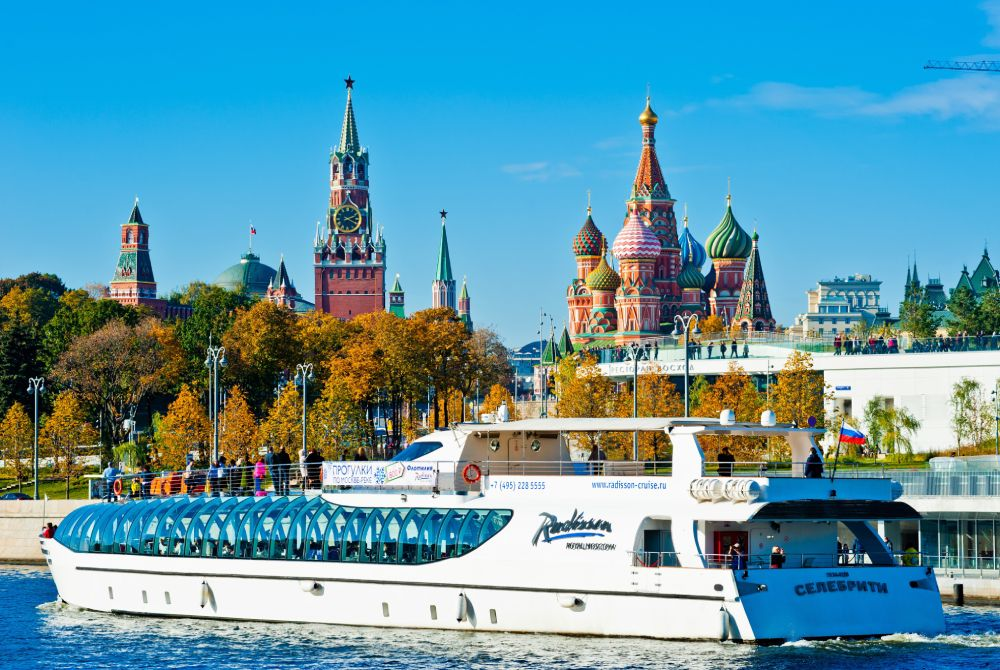 Picture: The Radisson Cruise on the Moskva River ‒ a unique experience in Moscow